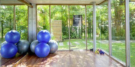 Fitnessrum på Let's Sea Hua Hin Al Fresco Resort i Thailand.