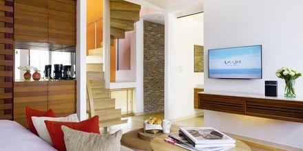 Suite/club-værelse på Let's Sea Hua Hin Al Fresco Resort i Thailand.