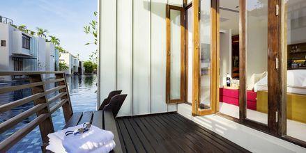 Større dobbeltværelse på Let's Sea Hua Hin Al Fresco Resort i Thailand.