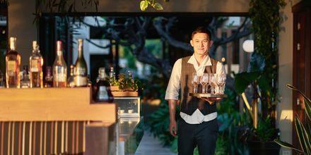 Bar på Let's Sea Hua Hin Al Fresco Resort i Thailand.