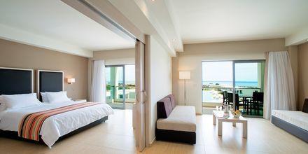 Familie-værelse på Hotel Levante Beach Resort på Rhodos, Grækenland.