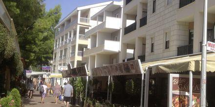 Hotel Libertas i Makarska, Kroatien.