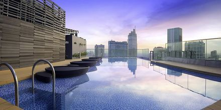 Pool på taget på Liberty Central Saigon Point, Saigon