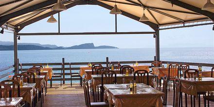 Restaurant på Hotel Lichnos Bay Village på Parga, Grækenland.
