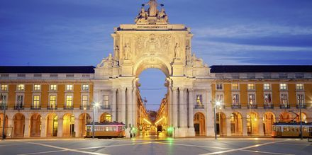 Lissabon i Portugal.