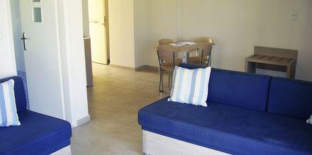 Lejlighed på Hotel Lissos på Kreta, Grækenland.