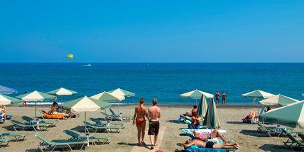 Stranden ved Hotel Lissos på Kreta, Grækenland.