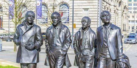 The Beatles har gjort Liverpool til en kendt musikby.
