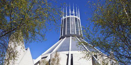 Liverpool Metropolitan Cathedral, Liverpool i England.