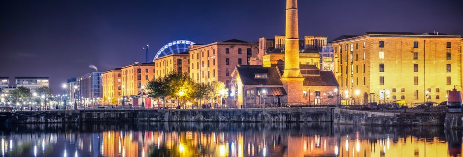 Liverpool i England.