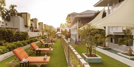 Solterrasse på Hotel Loligo Resort Hua Hin Fresh Twist By Let's Sea i Thailand.