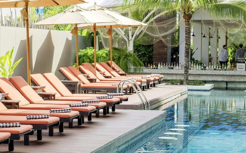 Pool på Hotel Loligo Resort Hua Hin Fresh Twist By Let's Sea i Thailand.