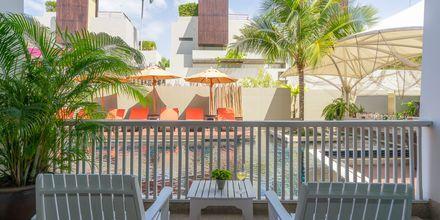 Deluxe-værelse på Hotel Loligo Resort Hua Hin Fresh Twist By Let's Sea i Thailand.
