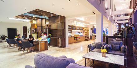 Lobby på Hotel Loligo Resort Hua Hin Fresh Twist By Let's Sea i Thailand.