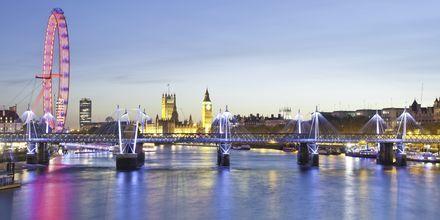 London Eye i London, Storbritannien.