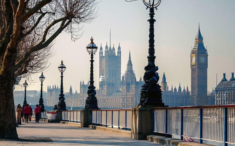 afbudsrejser til london