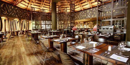 Buffetrestauranten Marula udendørs på Lopesan Baobab Resort i Meloneras på Gran Canaria, Spanien