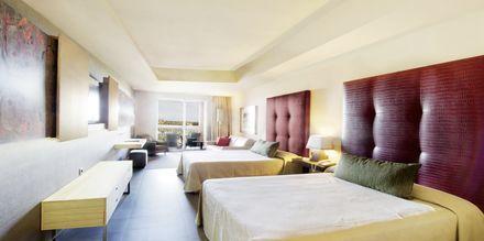 Familie-værelse på Lopesan Baobab Resort i Meloneras på Gran Canaria, De Kanariske Øer.