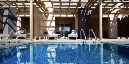 Dobbeltværelse med privat pool på Lopesan Baobab Resort i Meloneras på Gran Canaria, De Kanariske Øer.