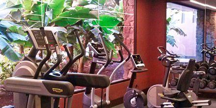 Fitnessfaciliteter på Lopesan Baobab Resort i Meloneras på Gran Canaria, De Kanariske Øer, Spanien.