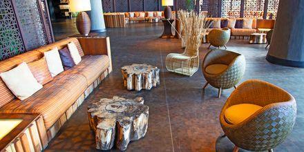 Lobbyen på Lopesan Baobab Resort i Meloneras på Gran Canaria, De Kanariske Øer, Spanien.