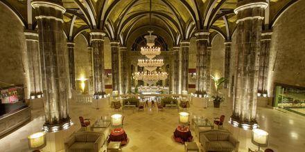 Lobby på Lopesan Villa del Conde Resort & Thalasso på Gran Canaria, De Kanariske Øer.