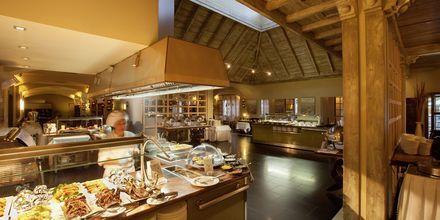 Buffetrestaurant på Lopesan Villa del Conde Resort & Thalasso på Gran Canaria, De Kanariske Øer.