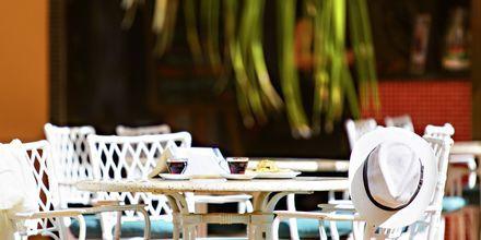 Café på Hotel Los Alisios på Tenerife, De Kanariske Øer.