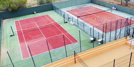 Tennis på Hotel Los Alisios på Tenerife, De Kanariske Øer.