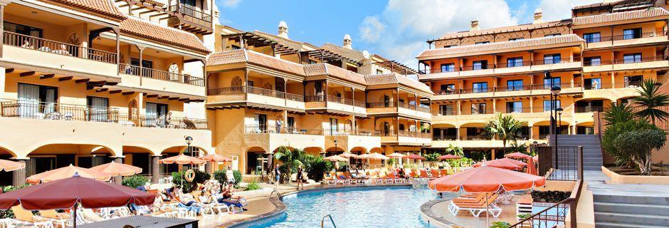 Poolområde på Hotel Los Alisios på Tenerife, De Kanariske Øer.