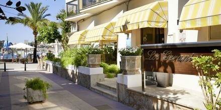 Hotel Los Geranios i Puerto de Sóller, Mallorca.