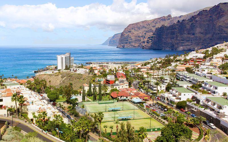 Los Gigantes på Tenerife