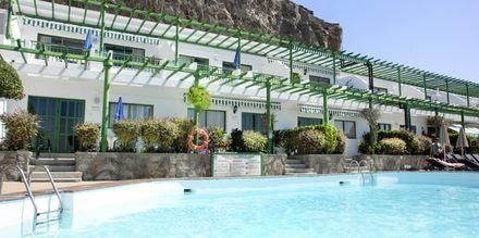 Poolområde på Los Veleros i Puerto Rico, Gran Canaria
