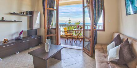 2-værelses lejlighed på Hotel Loukas on the Waves i Tragaki, Zakynthos.