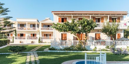 Hotel Loukas on the Waves i Tragaki, Zakynthos.