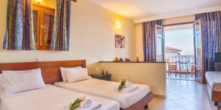 1-værelses lejlighed på Hotel Loukas on the Waves i Tragaki, Zakynthos.