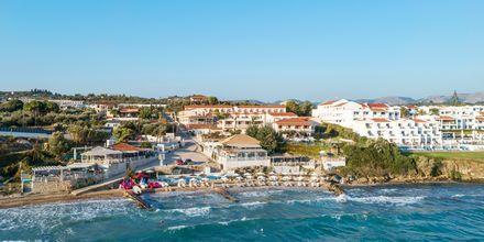 Strand ved Hotel Loukas on the Waves i Tragaki, Zakynthos.