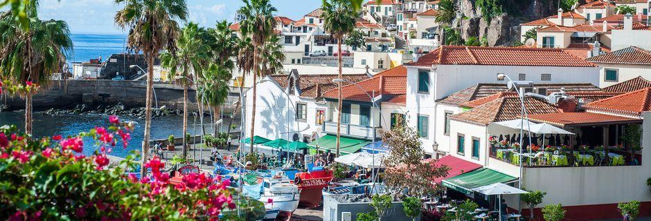 Funchal på Madeira, Portugal.