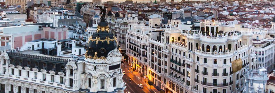 En weekend i Madrid er for de fleste - madelskere, fodboldnørder, kunstinteresserede og shoppinglystne.