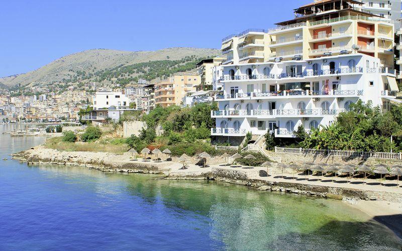 Hotel Maestral i Saranda, Albanien