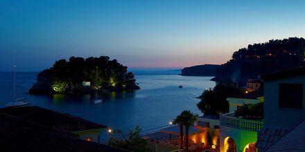 Udsigt fra Hotel Maistrali på Parga, Grækenland.