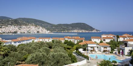Udsigt fra Hotel Maistros på Skopelos.