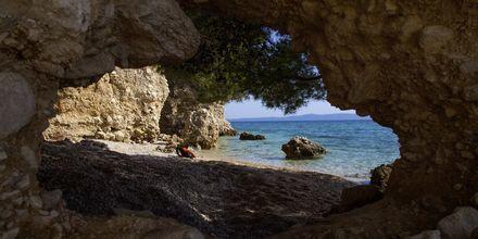 Makarska på Makarska Riviera, Kroatien.