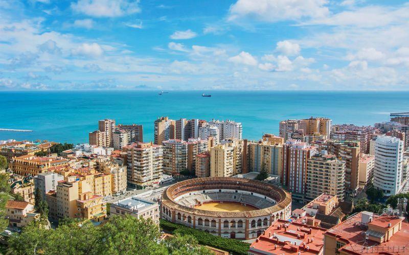 rejser til spanien malaga