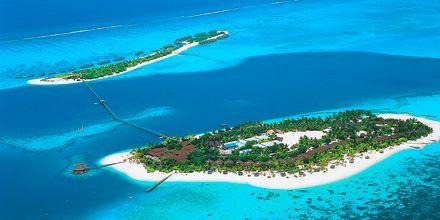 Små øer på Maldiverne.