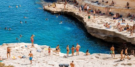 Smukke Malta byder på en dejlig natur, blåt hav og spændende historie.