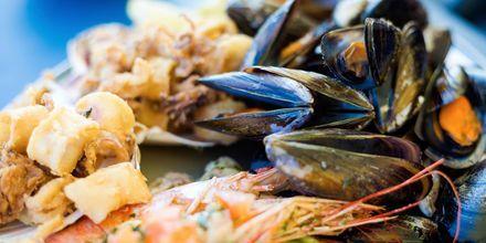 På din ferie til Malta skal du prøve og smage fisk og skaldyr - noget de er ekstremt dygtige til at tilberede.