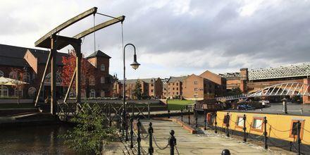Castlefield, Manchester i England.