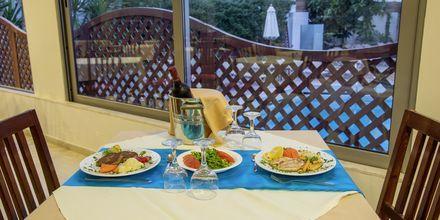 Restaurant på Hotel Manousos på Rhodos, Grækenland.