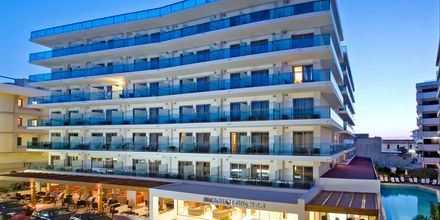Hotel Manousos på Rhodos, Grækenland.